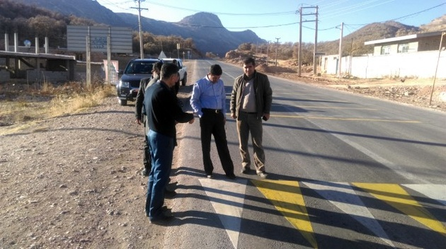 اجرای عملیات خطکشی سرد در 330 کیلومتر از جادههای استان چهارمحالوبختیاری