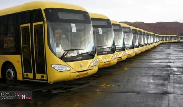 خدمات اتوبوسرانی به مناسبت مراسم اربعین
