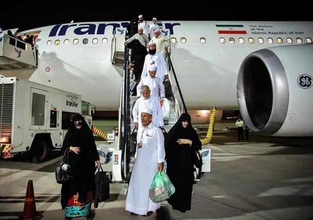 انجام 81 پرواز برای بازگشت حجاج به کشور