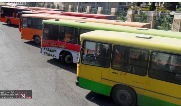 عمر اتوبوسها بالاست / ۵۰ درصد اتوبوس ها بازنشسته هستند