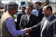 مذاکرات سفیر هندوستان در تهران برای توسعه همکاریها با بنادر شمالی و جنوبی