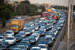 ترافیک نیمه سنگین در محور چالوس/مهگرفتگی در کندوان
