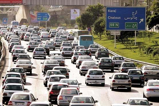 جاده چالوس و آزاد راه تهران- شمال بسته شد