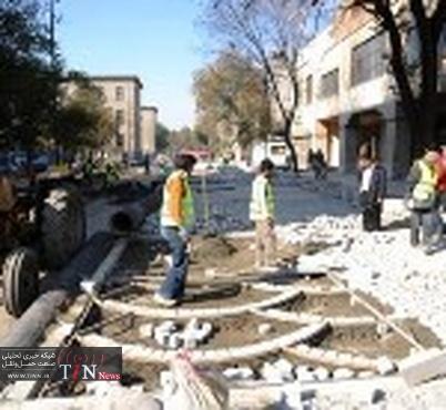 مناسب سازی گذرگاه های عابر پیاده در منطقه دو تهران