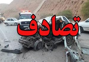 ۷مجروح در سانحه رانندگی محور نیکشهر