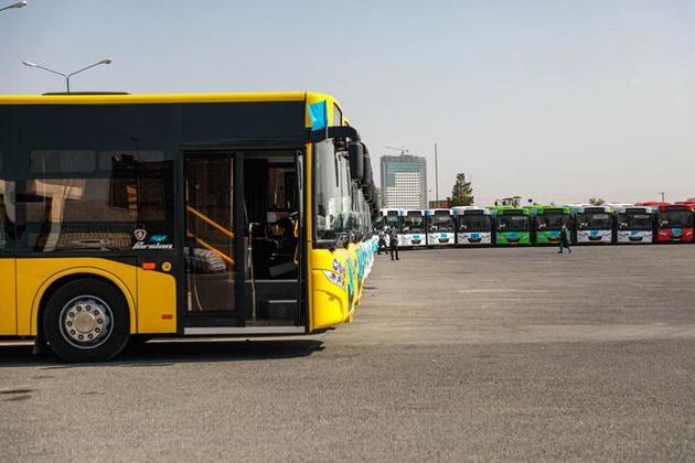 اتوبوسهای نو آبان ماه وارد ناوگان تهران میشوند
