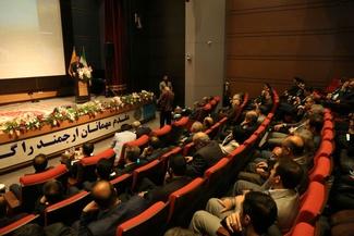 آیین گرامیداشت هفته حملونقل در راهآهن جمهوری اسلامی ایران