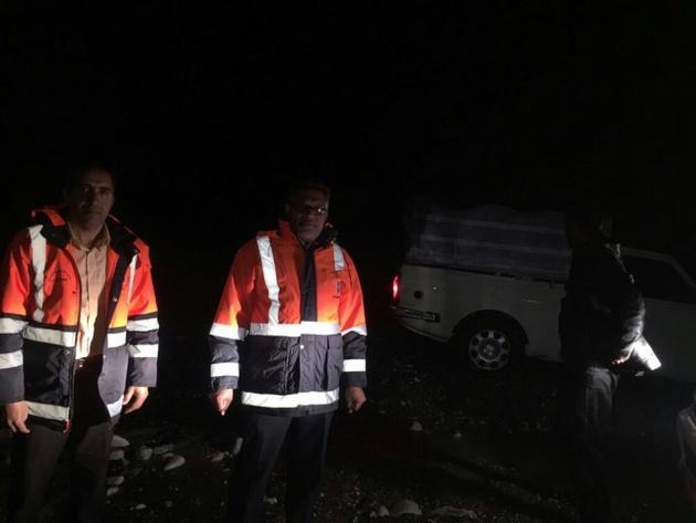 نجات ۴ نفر مسافر نوروزی به همت راهداران در جنوب کرمان