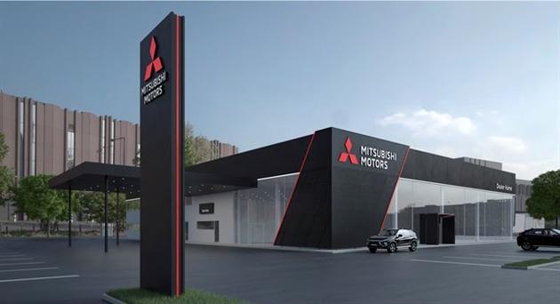 Mitsubishi Rolls Out New Global Dealership Design