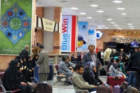 از سرگیری پروازهای عتبات عالیات از فرودگاه ساری
