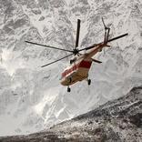 بارش برف عملیات جستجوی پیکر جانباختگان هواپیمای آسمان را متوقف کرد