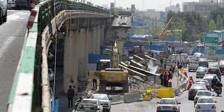 پایان عملیات جمعآوری پل گیشا تا آخر سال / آخرین شاهتیر پل گیشا برداشته شد