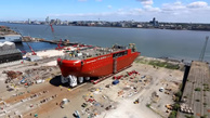 UK's new polar ship launched