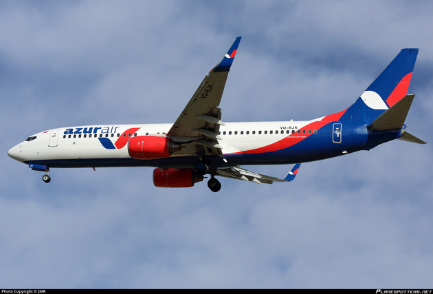 Azur Air Becomes Russia's First Boeing 737-900 Operator