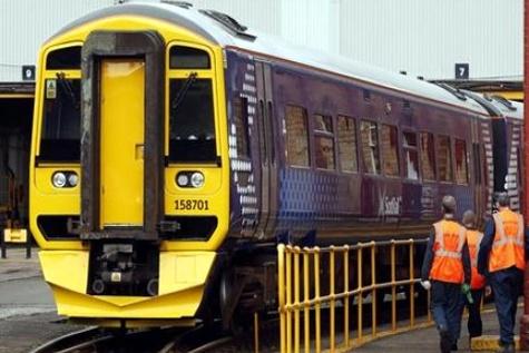 ScotRail unveils first refurbished trains under modernisation project