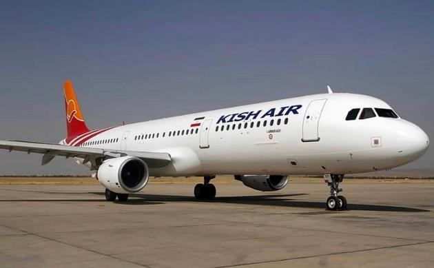 پرواز تهران - کیش فرودگاه شیراز را ترک کرد