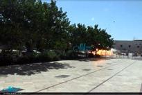 فیلم لحظه انفجار تروریست انتحاری در حرم امام(ره)