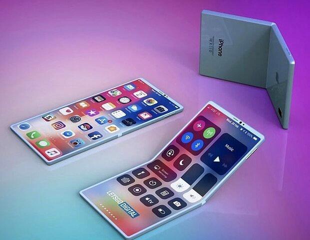 اپل موبایل تاشو می سازد