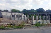 پیشرفت فیزیکی ۷۰ درصدی پل شهرک صنعتی رشت