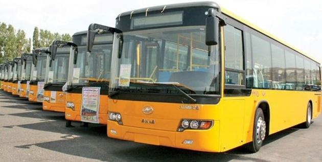 اتوبوسهای خارجی با دستور دولت به تهران می آیند