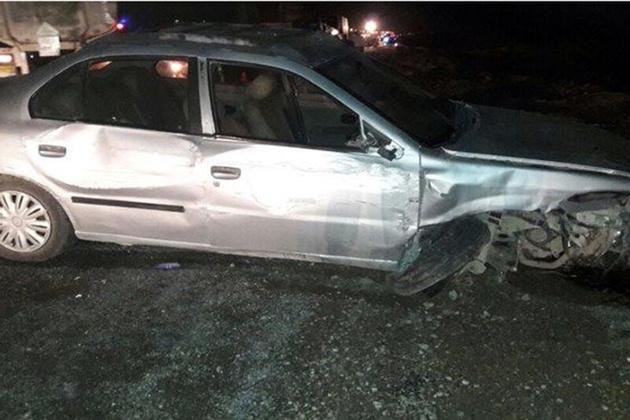 تصادف در جاده دیواندره به سقز یک کشته بر جا گذاشت