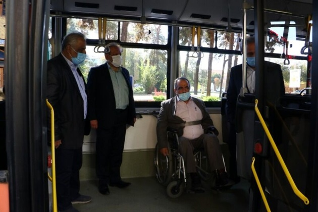 راهاندازی اتوبوس ویژه نابینایان و ناشنوایان در یزد