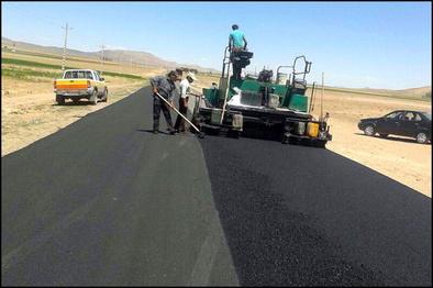 روکش آسفالت ۲۰ کیلومتر از جاده ارتباطی کوزران انجام شد