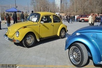 گزارش تصویری نمایشگاه خودروهای کلاسیک در شیراز