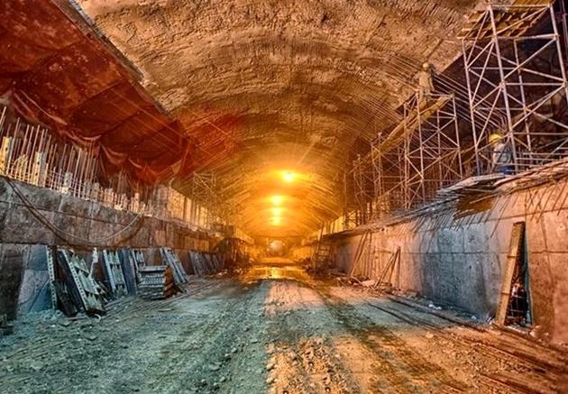 پیشرفت ۸۰ درصدی عملیات زیرسازی متروی بهارستان