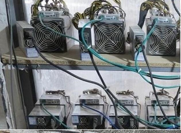 ۱۰ دستگاه استخراج ارز دیجیتال در گنبدکاووس کشف شد