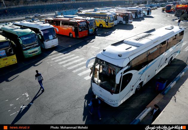 بررسی و رفع مشکلات پایانه مسافربری شهید سیامک طاهری