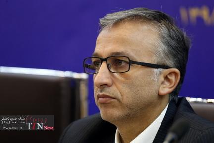 نشست خبری سعید رسولی مدیرعامل راه آهن