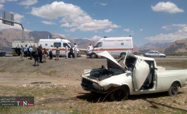 سهم ۸/۴درصدی وانت بار ها در متوفیات تصادفات جاده ای استان زنجان