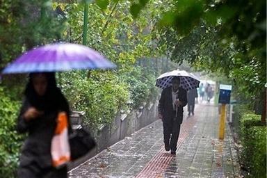 بارش باران و برف در جادههای خراسان رضوی