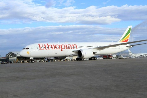 Ethiopian spreads its wings