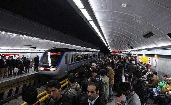 اختلال در حرکت قطارهای مترو تهران و کرج