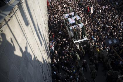تصاویری از  تشییع پیکر سردار حاج قاسم سلیمانی در تهران