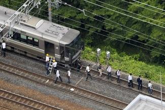 تصاویر/ اختلال در «شین-کان-سن» پس از زلزله 6.1 ریشتری ژاپن