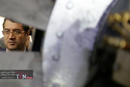 بازدید وزیر صنعت، معدن و تجارت از هفتمین نمایشگاه ریلی