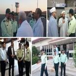 بازدید رئیس پلیس فرودگاههای کشور از فرودگاه گرگان