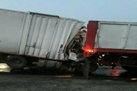 دو کشته و زخمی براثر سانحه رانندگی در محور جیرفت - جبالبارز