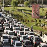 حجم بالای ترافیک در پنجمین روز از سفرهای نوروزی