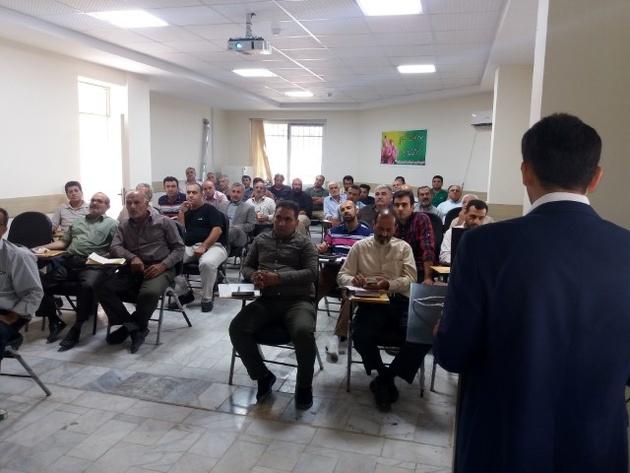 برگزاری دوره آموزشی بازآموزی مدیران فنی موسسات حملونقل جادهای مازندران