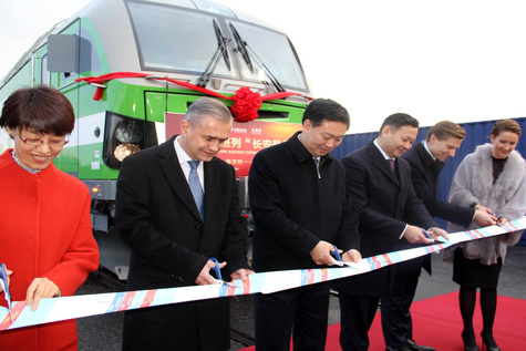 Finland to China freight service launched