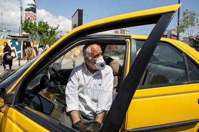 رانندگان تاکسی نکات بهداشتی حمل مسافر را رعایت کنند