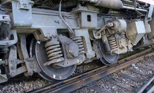 خروج قطار باری اسلامشهر-آپرین از ریل/خسارت و مصدوم نداشتیم