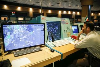 مرکز کنترل پرواز تهران