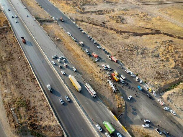 افزایش ۲۰ درصدی تلفات رانندگی در مازندران