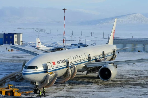 Air China flight from Beijing to Los Angeles makes an emergency landing in Siberia