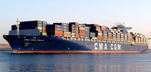 CMA CGM's 22,000 TEUs to fly French flag